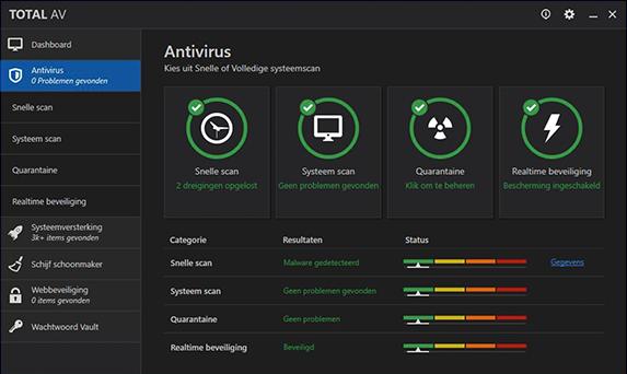TotalAV Windows App Screenshot