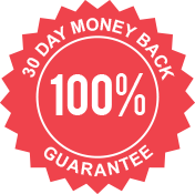 30 Day 100% Money Back Guarantee