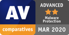 AV Comparatives Advanced Badge