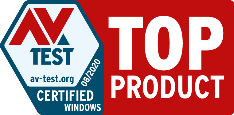 AV Test Certified Badge